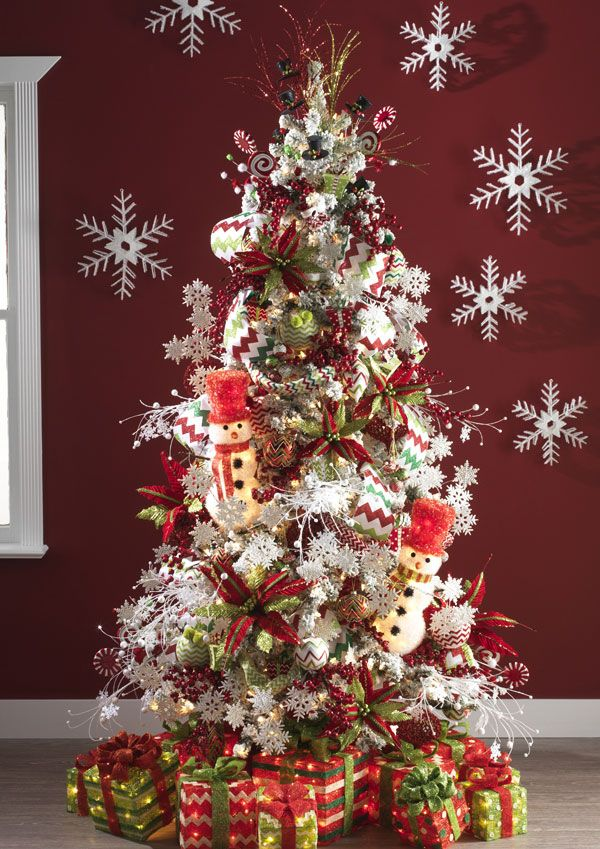 Christmas Tree Decorations 2014 46 best christmas tree themes & decor 2014 images on pinterest
