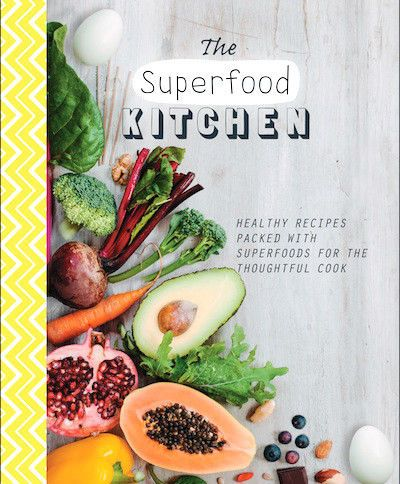 NEW The Superfood Kitchen Paperback Book Christmas Gift FAST & FREE Shipping*