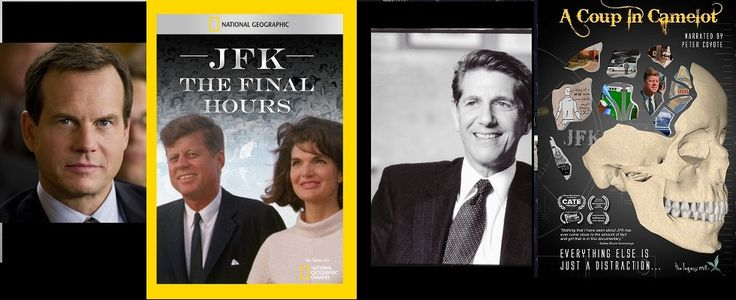 SIX DEGREES OF SEPERATION: the late Bill Paxton narrates JFK: THE FINAL HOURS (they just mentioned this on NBC Nightly News) and I am credited at the end of the program; Peter Coyote narrates A COUP IN CAMELOT and says my name several times, as I have 15 minutes of screen time; pretty cool. Small world, indeed.