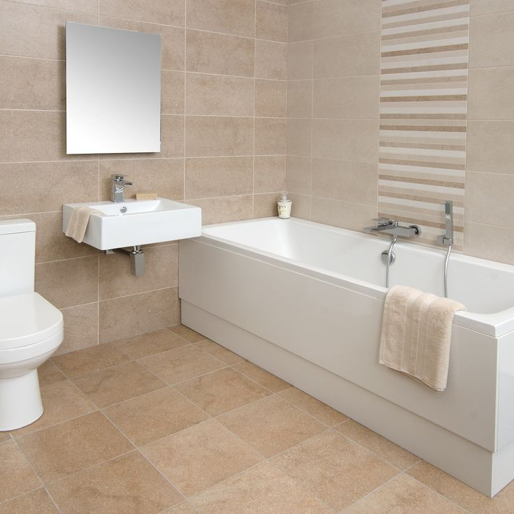 Bucsy beige wall tile spring bathroom inspiration for Spring bathroom ideas
