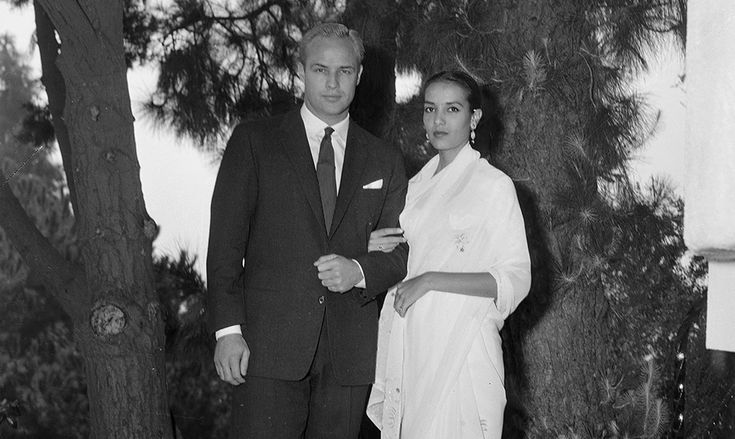 Marlon Brando - Il Post #Brando and 1st wife Anna Kashfi
