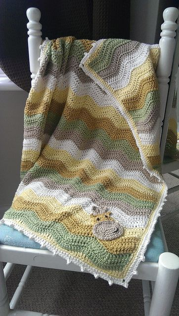 Giraffe crochet ripple blanket | Flickr - Photo Sharing! https://www.facebook.com/PrettyHooked