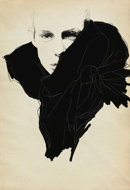 Fashion illustration: Sandra Suy
