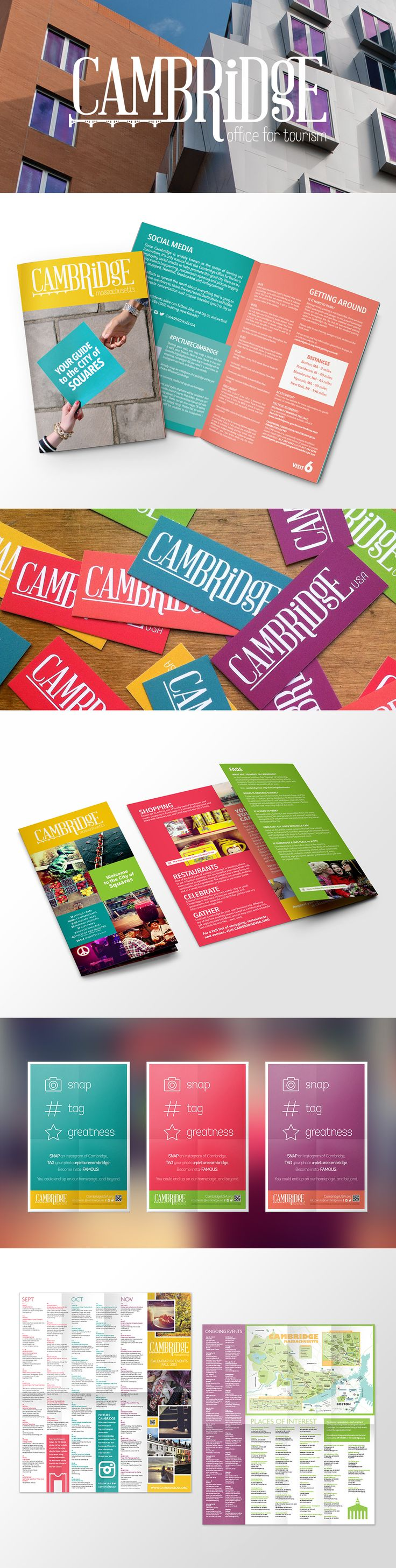 Cambridge Office for Tourism Branding by JSGD