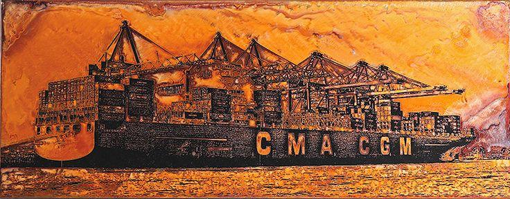 18 CMA CGM Containership