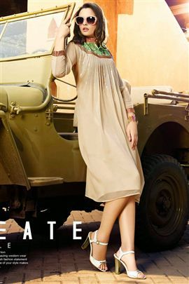 #Buy #Online Latest #Designer #Kurtis @ Best Price Starting From $10 at #waocollection.com Click Here To Buy Now http://goo.gl/SVR8oD