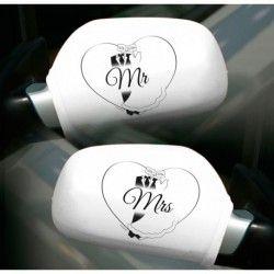Autospiegel Hoezen Mr. & Mrs.