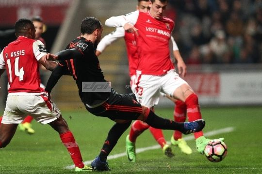 Premier League 2016/17: SC Braga v SL Benfica