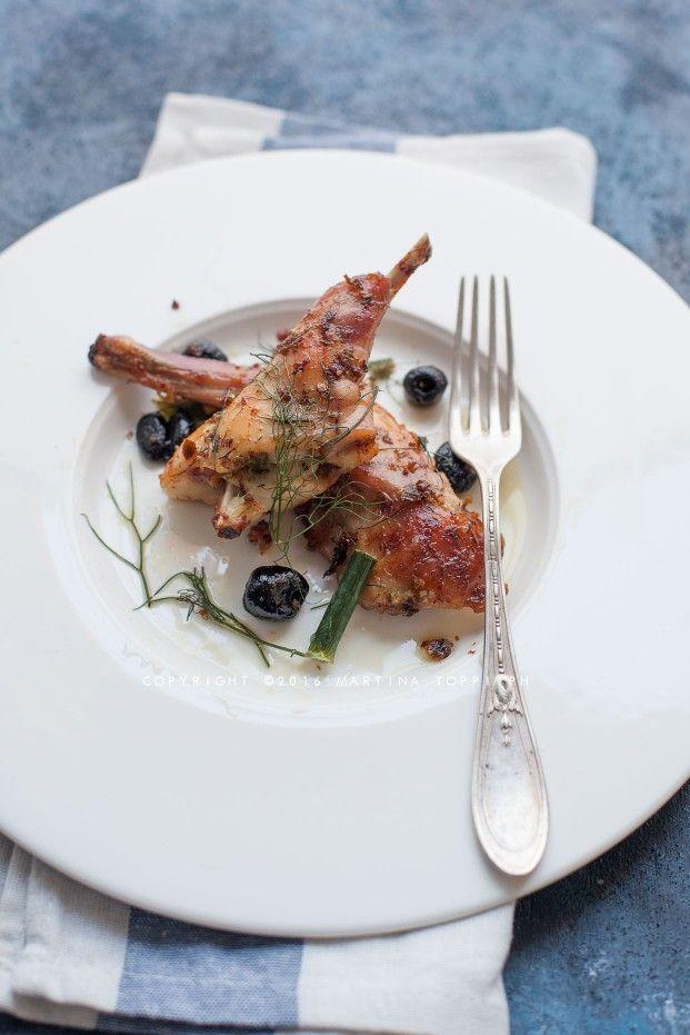 Ricetta coniglio in porchetta alla marchigiana