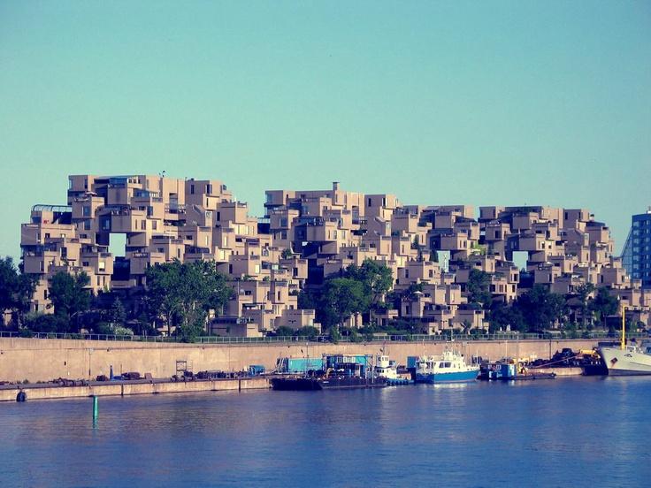 Habitat 67, Montreal - Moshe Safdie (1967)