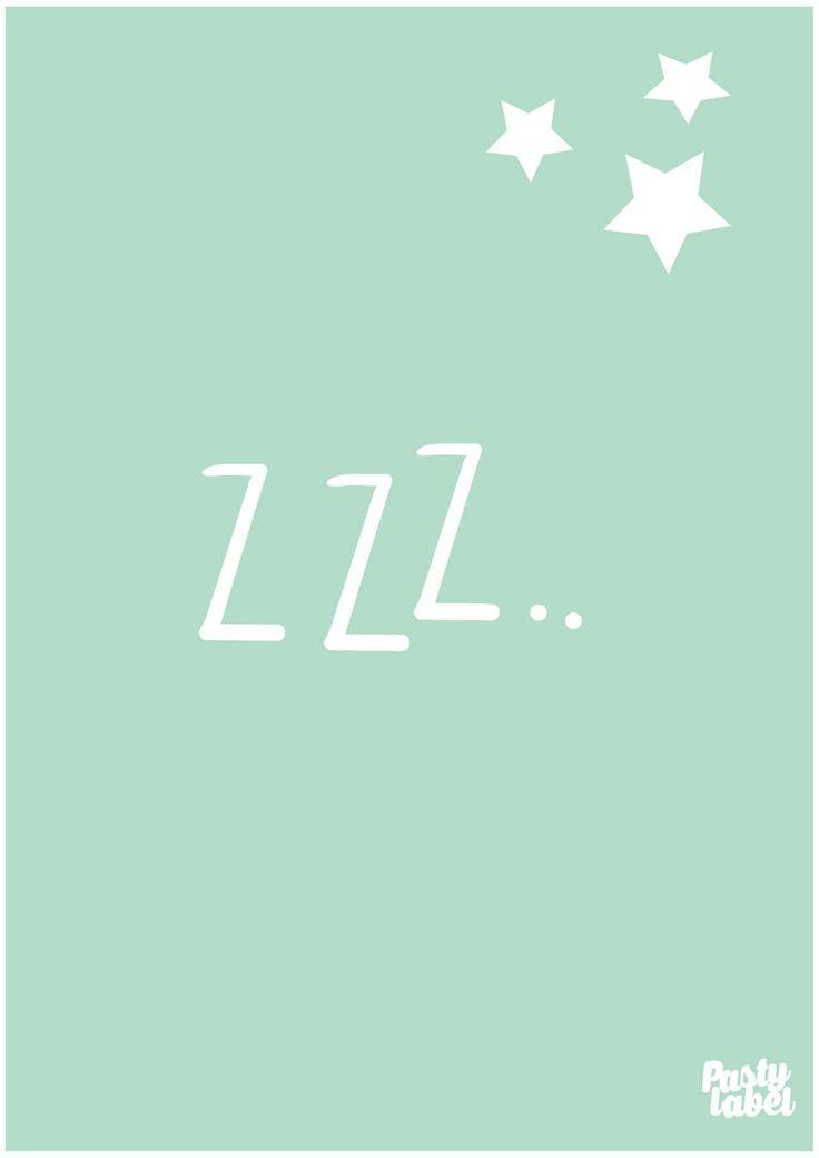 Voor de liefste baby en de mooiste babykamer is deze babykamer slaap zacht mint als kinderkamerdecoratie onmisbaar. Slaap zacht, maar eerst even online shoppen