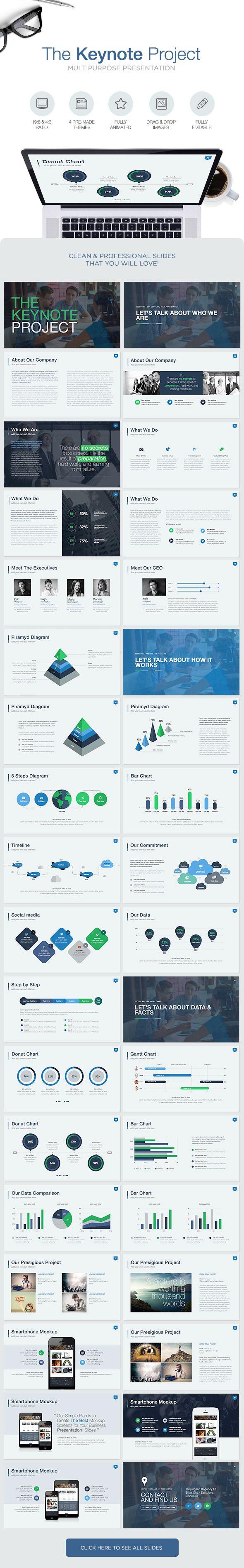 The Keynote Project - Keynote Template - Keynote Templates Presentation Templates