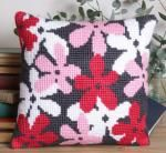 Flourish Tapestry Kit Cushion Front