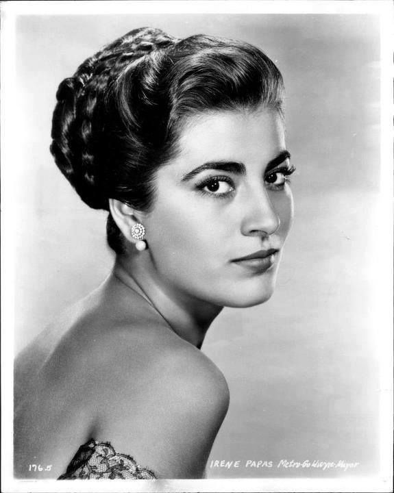 Irene Papas (Greek Ειρήνη Παππά; born 3 September 1926) is a Greek actress and occasional singer, who has starred in over seventy films in a career spanning more than fifty years.