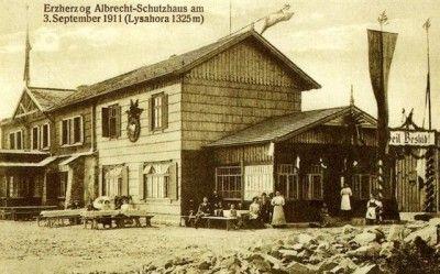 1911, Albrechtova chata