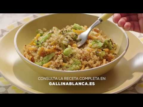 Receta de Quinoa con verduras - Gallina Blanca