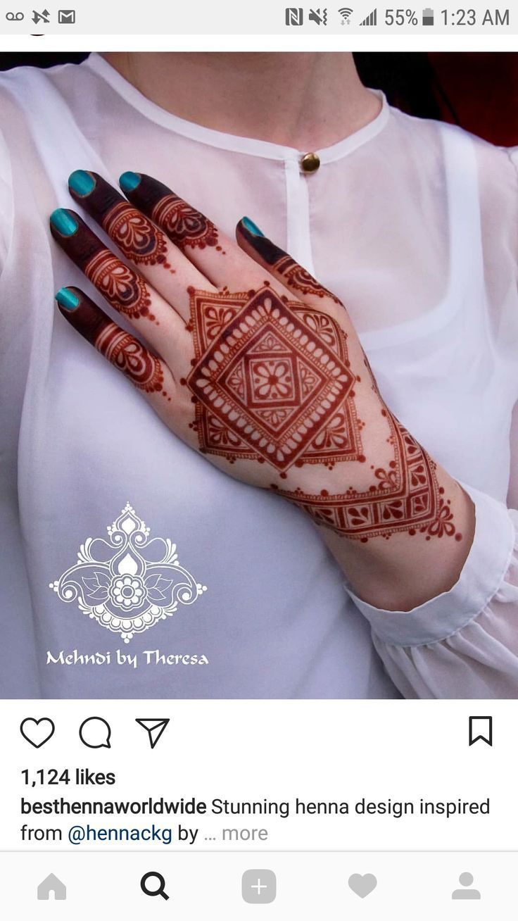 Stylist Design Of Henna Or Mehedi Unique Mehndi Designs