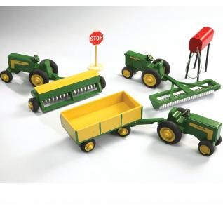 Free Toy Tractor Pattern from Alvin Bulgrien in Scroll Saw Woodworking &…