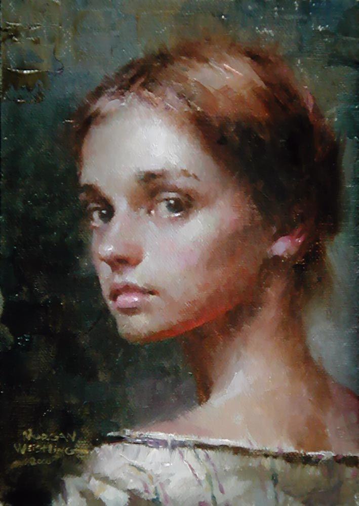 Morgan WeistlingFavorite Artists, Art Schools, American Romantic, Momentary Glance, Morgan Weistling, Weistling 1964, Portraits, Romantic Painters, Painting