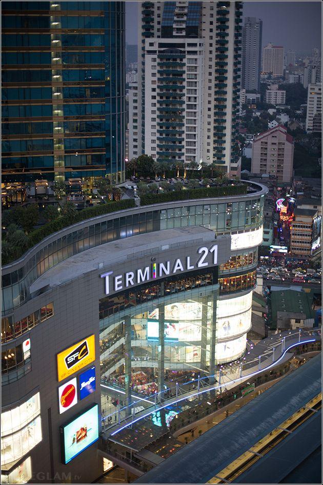 View at Terminal 21 Shopping place from the Sheraton Grande Sukhumvit Bangkok – SGS Bangkok - Luxury Collection Hotel - Bangkok, Thailand