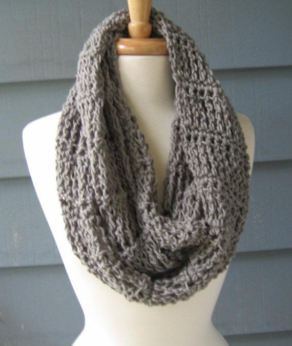 Crochet Patterns Infinity Scarves : Crochet PATTERN Infinity Scarf Crochet - Blankets Pinterest