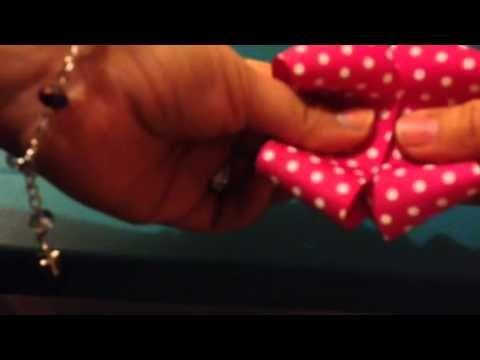 Boutique bow (como hacer moño estilo boutique)