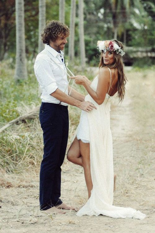 Beach Wedding Dresses to Inspire You                                                                                                                                                                                 More