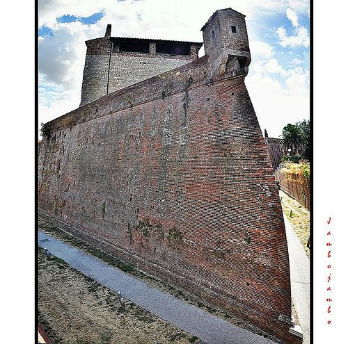 Grosseto fortress wall  - Like the prow of a ship