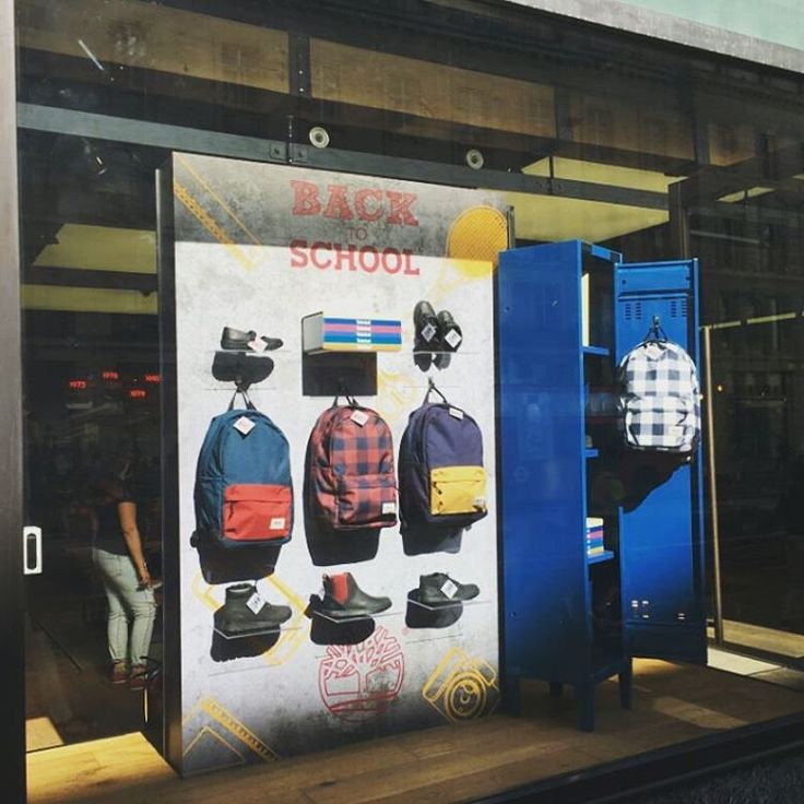 "TIMBERLAND, London, UK, ""Back to School"", creative by Elemental Design, pinned by Ton van der Veer"