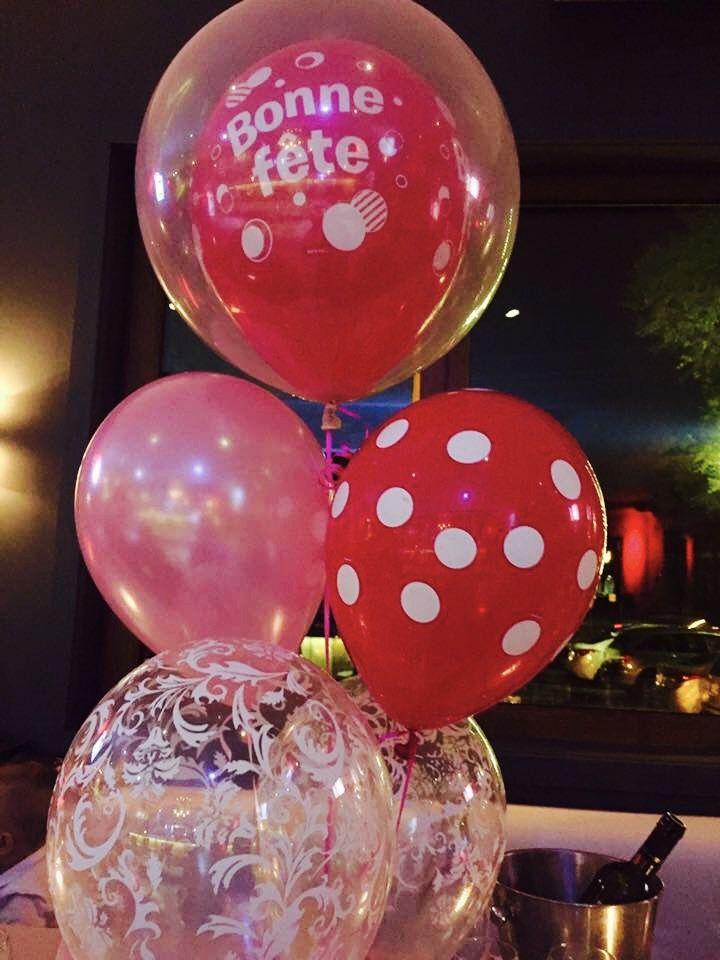 Super beau Bouquets de Ballons à l'hélium pour La Fête de Camille du Journal Accès! Bonne Fête! Livraison à Saint Sauveur dans Laurentides