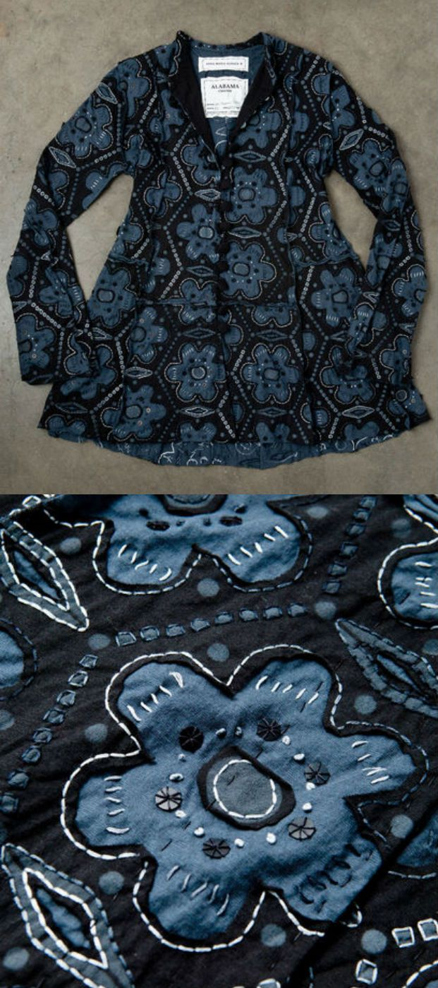 Alabama Chanin clothes are gorgeous.