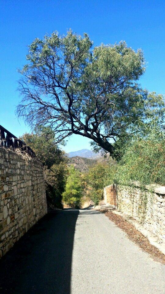 The road less traveled -  Vavla village - Copyright Anna Christoforou