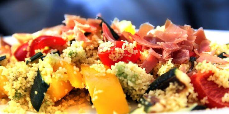 Couscous med spekeskinke