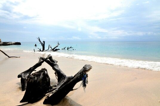 Gili Trawangan has many beautiful clear blue water beaches, Lombok, Indonesia, 130609