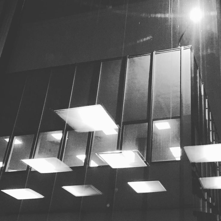 Lights. More lights #encek #instaphoto  #reflection #buildings #modernism #nowahuta #inataphoto