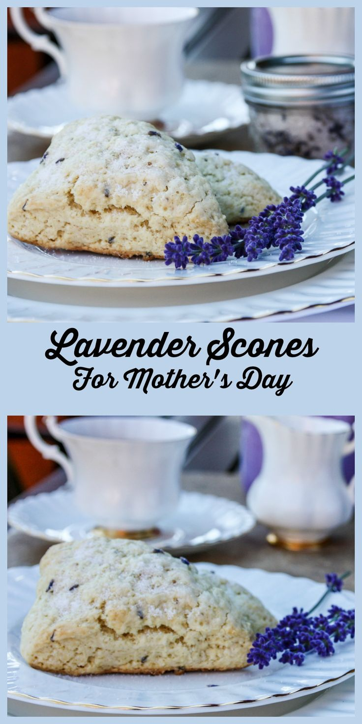 Lavender Scones are a simple to make, but elegant treat for Mother's Day brunch or tea.