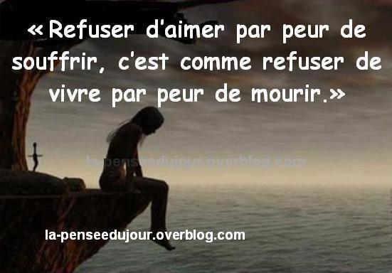 Citation sur la vie :).  So true!  Aline ♥ wise words!