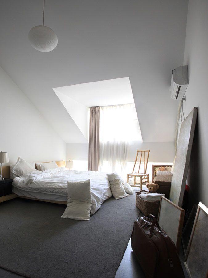 Romantische slaapkamer op zolder  Livingroom  Pinterest