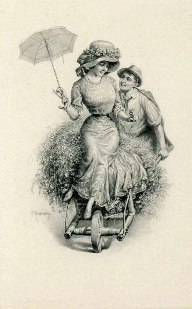 Oude Victoriaanse romantische kaarten. Discussie over LiveInternet - Russische Dienst Online Diaries