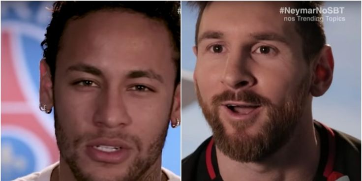 Neymar sends Christmas message to former Barcelona team-mate Messi