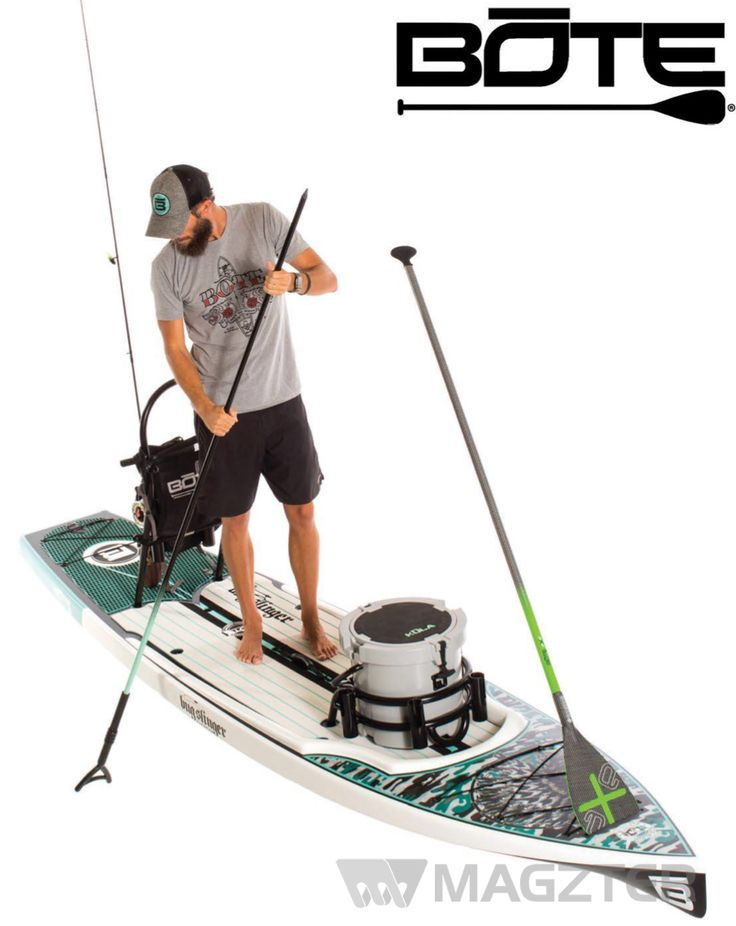 SUP and fishing in one