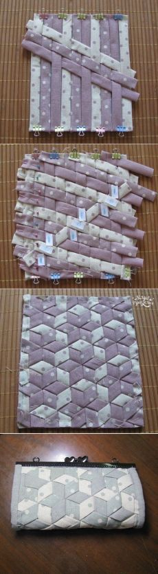Not in English, but I could figure it out.  Really cool pattern!  Could use it as a hot pad.