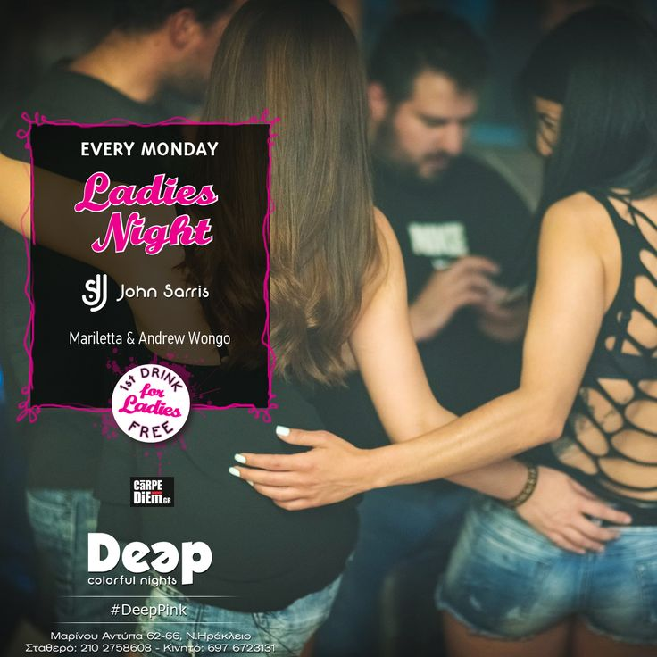 #DeepPink #MondayNights #LadiesNight