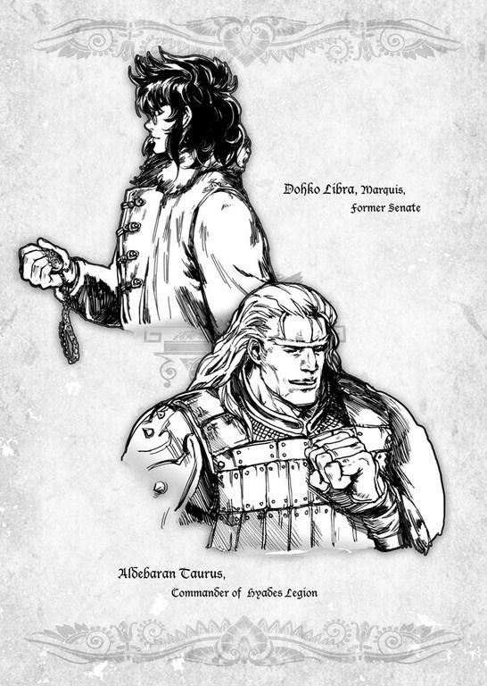 Libra Dohko Marquis ~ Former Sonate | Taurus Aldebaran Commander