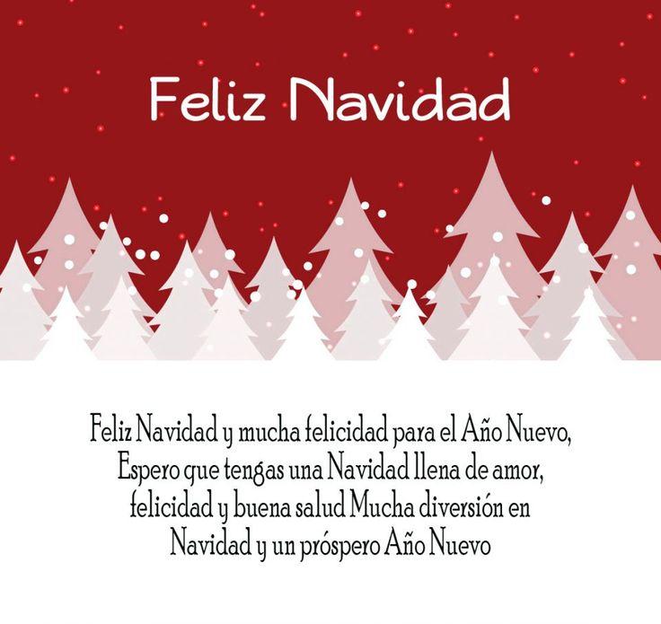 M s de 25 ideas incre bles sobre frases cortas de navidad - Felicitaciones cortas de navidad ...