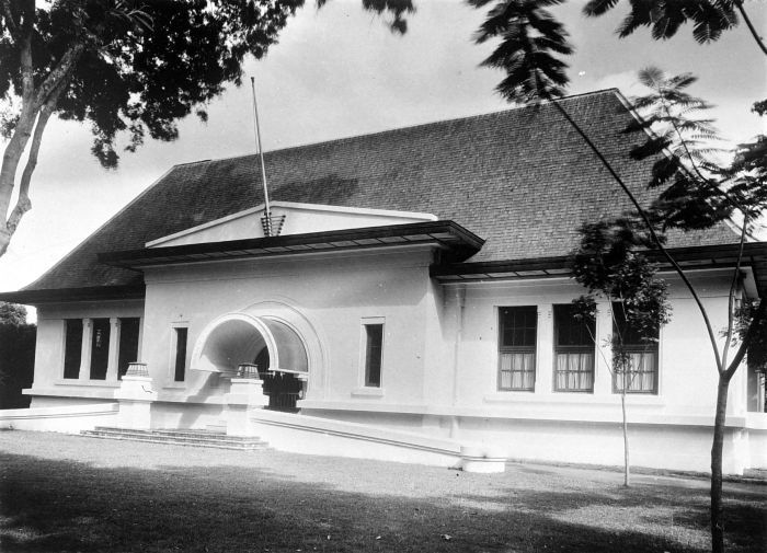 Building of the Dutch East Indies Council at Weltevreden