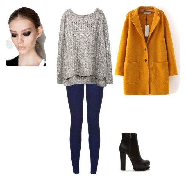 """""""Untitled #16"""" by contesa-barabas on Polyvore featuring Forever 21"""