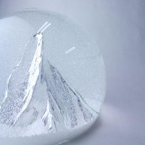 スノードーム マッターホルンの山  Snow Dome mountain Matterhorn
