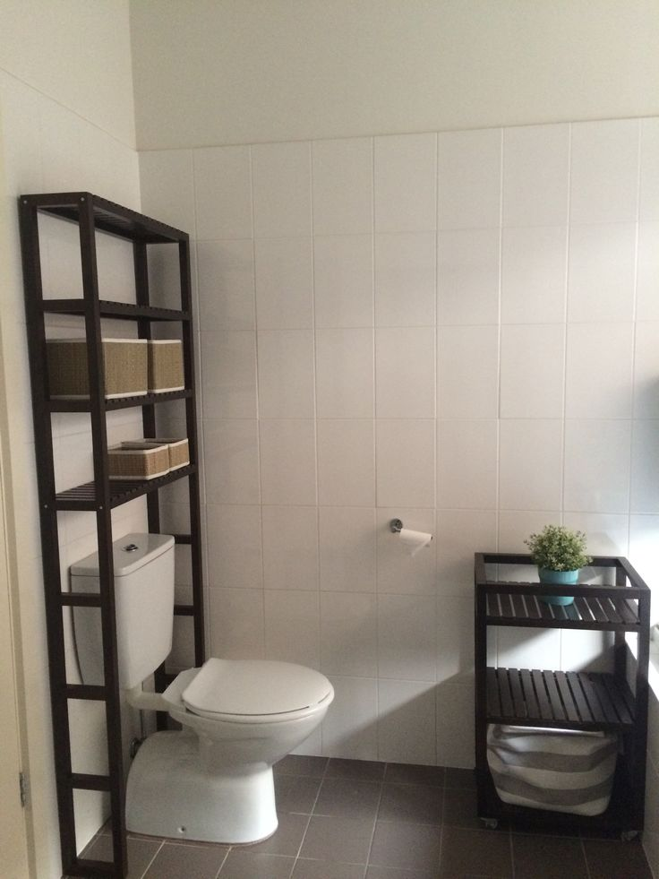 IKEA Molger bathroom trolley and shelving