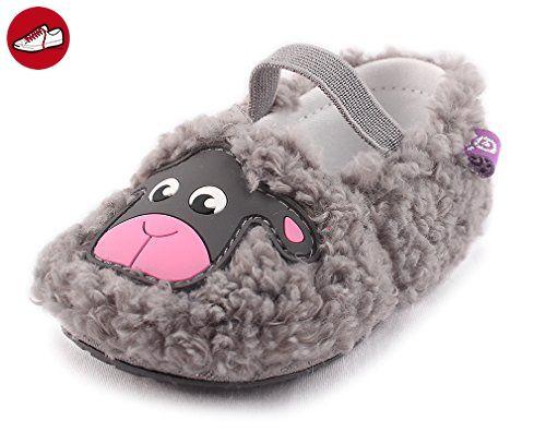 Cartoonimals Babyschuhe Mädchen Jungen Neugeborene Weiche Rutschsicheren Baby Kinder Schuhe Sheep Grey 19 - Kinder sneaker und lauflernschuhe (*Partner-Link)